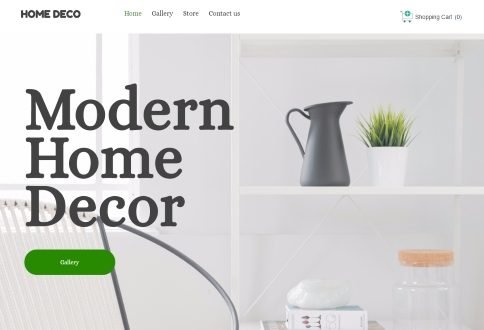 ecommerce Modern Home Decor